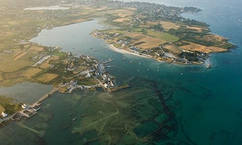 Morbihan-Gulf-Aerial-view